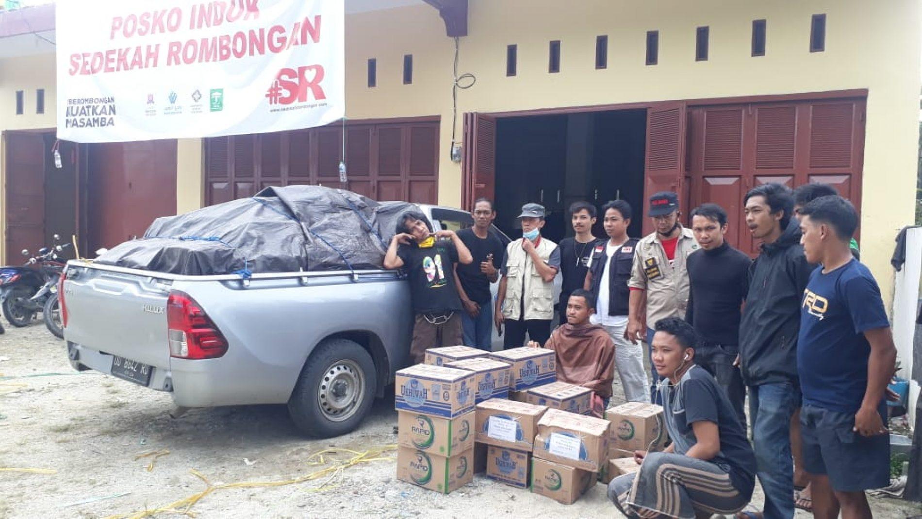 Tim Relawan FP UMI Kembali Menyalurkan Bantuan di Masamba